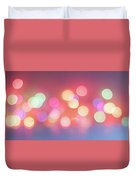 Pretty Pastels Abstract Duvet Cover