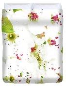 Pretty Pear Petals Duvet Cover