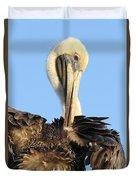 Pretty Pelican Duvet Cover