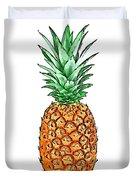 Pretty Pineapple II Duvet Cover