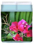 Pretty Pink Flowers 2 Duvet Cover