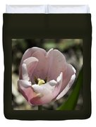 Pretty Pink Tulip Squared Duvet Cover