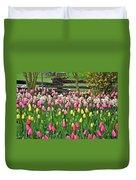 Pretty Tulips Garden Duvet Cover