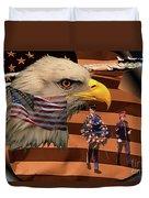 Price Of Freedom Duvet Cover