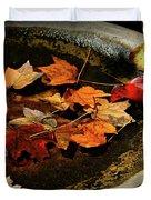 Priceless Leaves Fall Duvet Cover