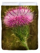 Prickly Thistle Duvet Cover