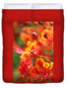Pride Of Barbados Duvet Cover