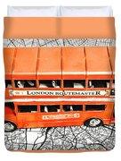 The Pride Of London Duvet Cover