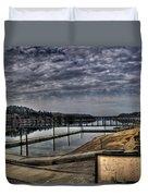 Priest River Panorama 6 Duvet Cover