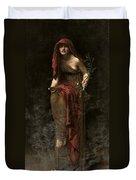 Priestess Of Delphi Duvet Cover
