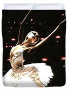 Prima Ballerina Duvet Cover by Richard Young