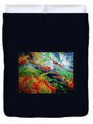 Primary Abstract I Detail 3 Duvet Cover