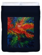 Primary Abstract II Detail 2 Duvet Cover