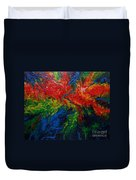 Primary Abstract II Duvet Cover