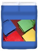 Primary Chairs Duvet Cover