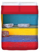 Primary Colored Doorstep Duvet Cover