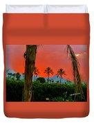 Primary Desert Sunset Duvet Cover