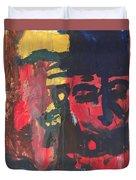 Primary Faces Duvet Cover