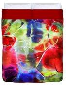 Glassy Art Duvet Cover
