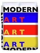Primary Modern Duvet Cover