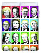 'prime Ministers Question Time X 16' Duvet Cover