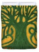 Primitive Tree Duvet Cover