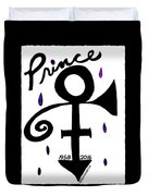 Prince 1958-2016 Duvet Cover