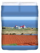 Prince Edward Island Fields 5642 Duvet Cover