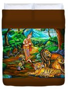 Prince In The Forest Of Life Duvet Cover