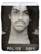 Prince Mug Shot Vertical Duvet Cover