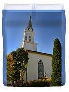 Prince Of Peace Catholic Church Madison Duvet Cover