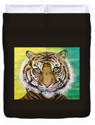 Prince Of The Jungle Duvet Cover