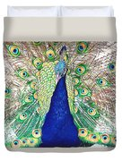 Prince Of The Peacocks Duvet Cover