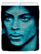 Prince - Tribute In Blue Duvet Cover