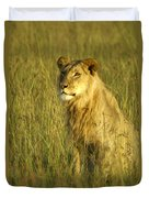 Princely Lion Duvet Cover