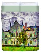 Princely Palace Duvet Cover