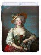 Princess Elisabeth Of France Duvet Cover