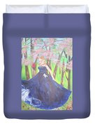 Princess In The Forest Duvet Cover