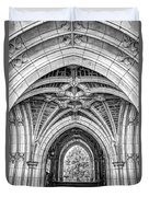 Princeton University Arched Walkway Duvet Cover