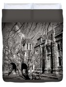 Princeton University Foulke And Henry Halls Archway Duvet Cover