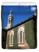 Princeton University Nassau Hall Cupola Duvet Cover