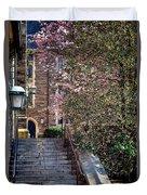 Princeton University Old Stairway Duvet Cover