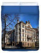 Princeton University Witherspoon Hall  Duvet Cover