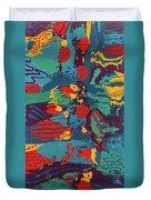 Printed Saltillo Duvet Cover