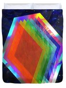 Prismatic Dimensions Duvet Cover