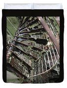 Prison Spiral Staircase Duvet Cover