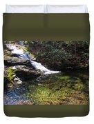 Pristine Stream Pool Duvet Cover