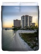 Private Beach Duvet Cover