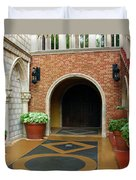 Private Entrance Duvet Cover