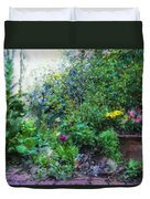 Private Garden Duvet Cover